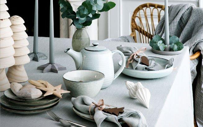 Weihnachtstischdeko Silber weihnachtstischdeko schöne deko ideen für eine festliche tafel