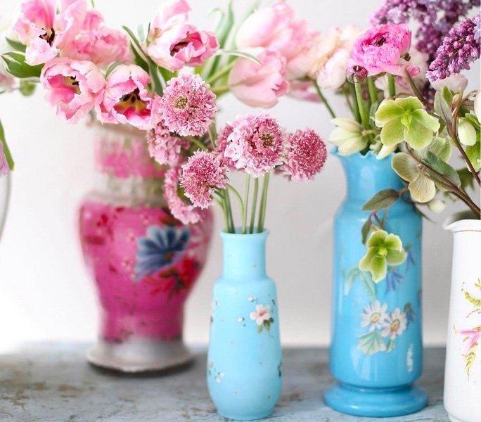Verspielte Vasen