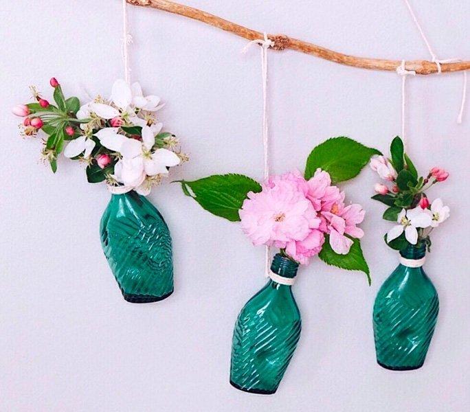 Fliegende Flaschen