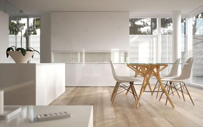 puristisch wohnen: wohnkonzept mit minimalistischer einrichtung, Attraktive mobel
