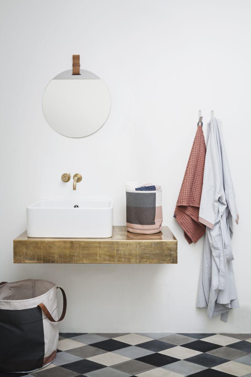Badezimmer Skandinavisch Einrichten